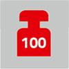 Zugelassen bis 100 kg